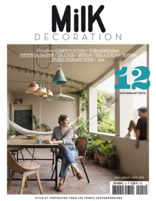 Milk decoration N°12 les voyages d'ingrid