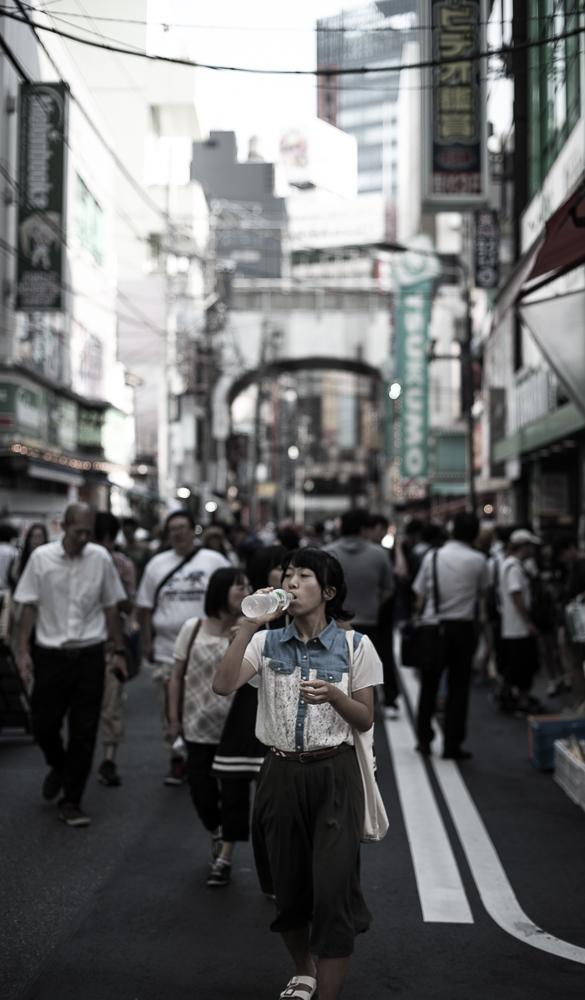 Portrait de vies dans les rues de Akihabara