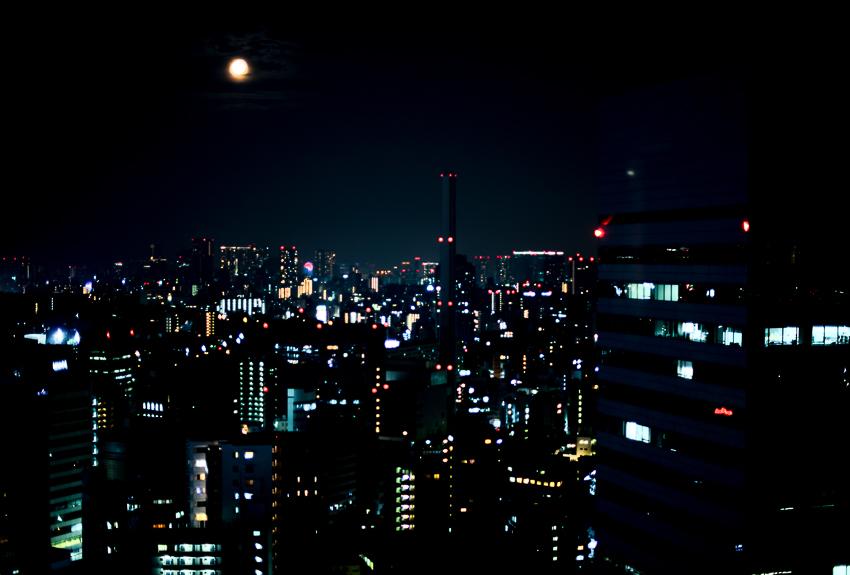 Lost in Tokyo, vue de nuit © photos alizee bauer