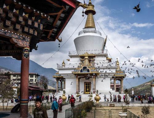 Voyage au Bhoutan, sur la route de Punakha