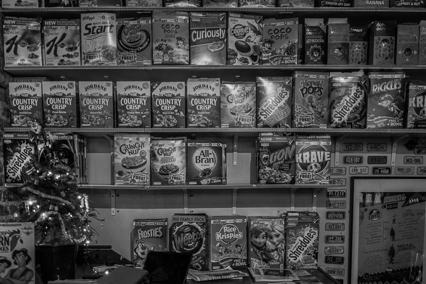 """Les vingt variétés de """"topping"""" ou céréales"""