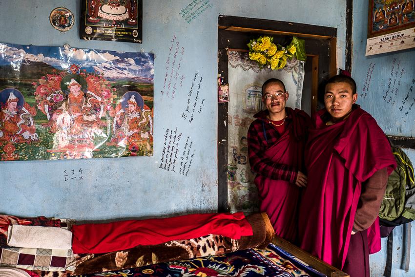 La chambre des moines