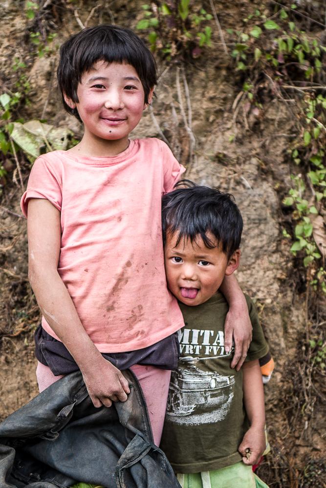Portrait de famille Punakha