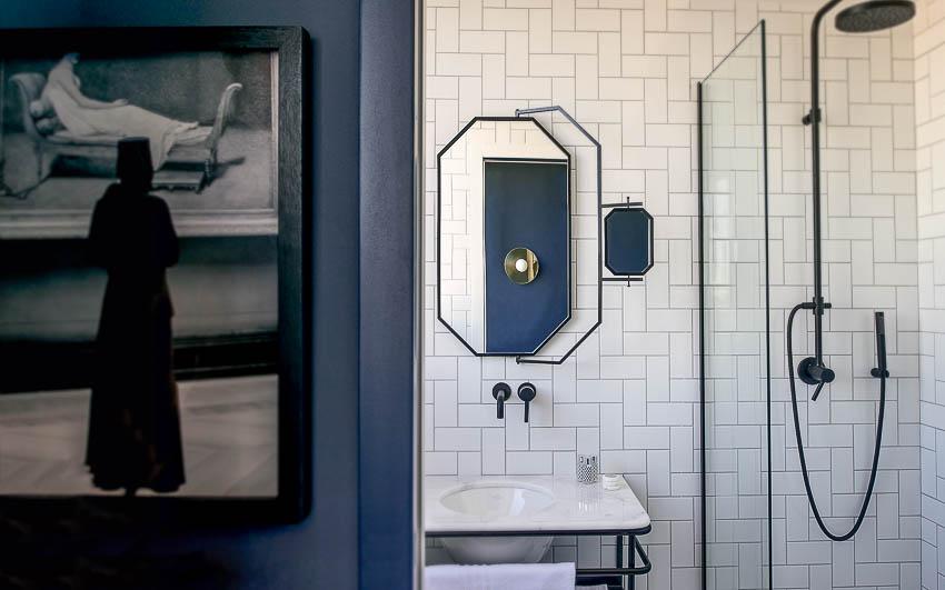 Détail salle de bain C.O.Q Hotel