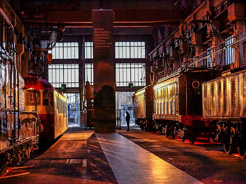 Exposition la Cité du Train. Grand Train Paris