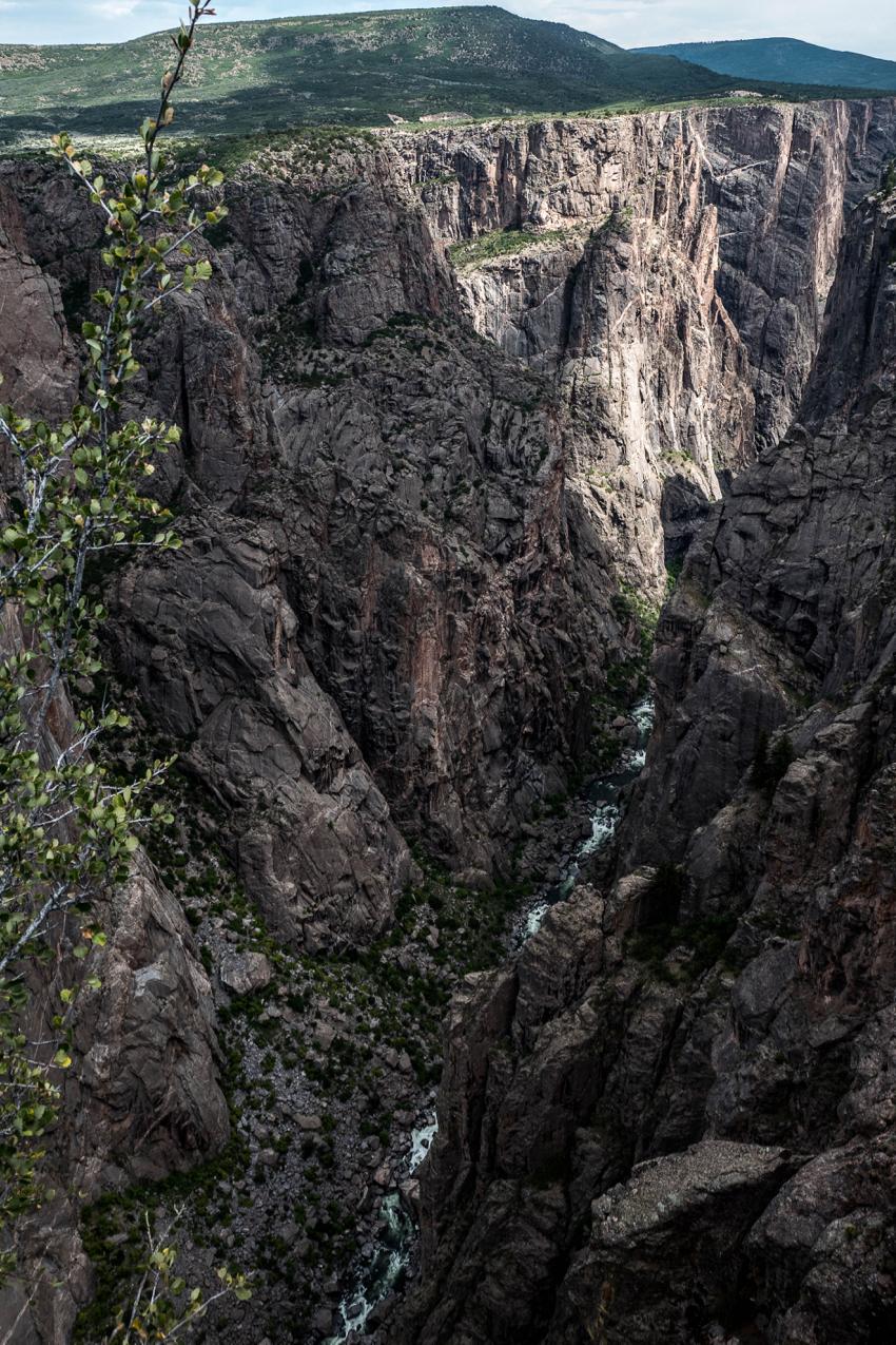 Black Gunnison Canyon, la vie est un long fleuve de 77 kms