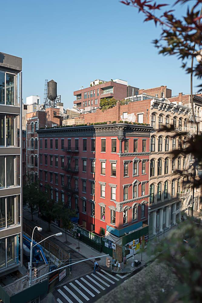 Penthouse, chambre avec vue sur Spring Street