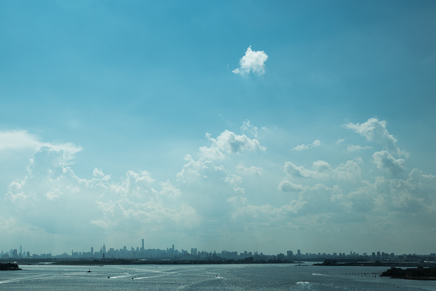 Retour via NYC, direction les Hamptons